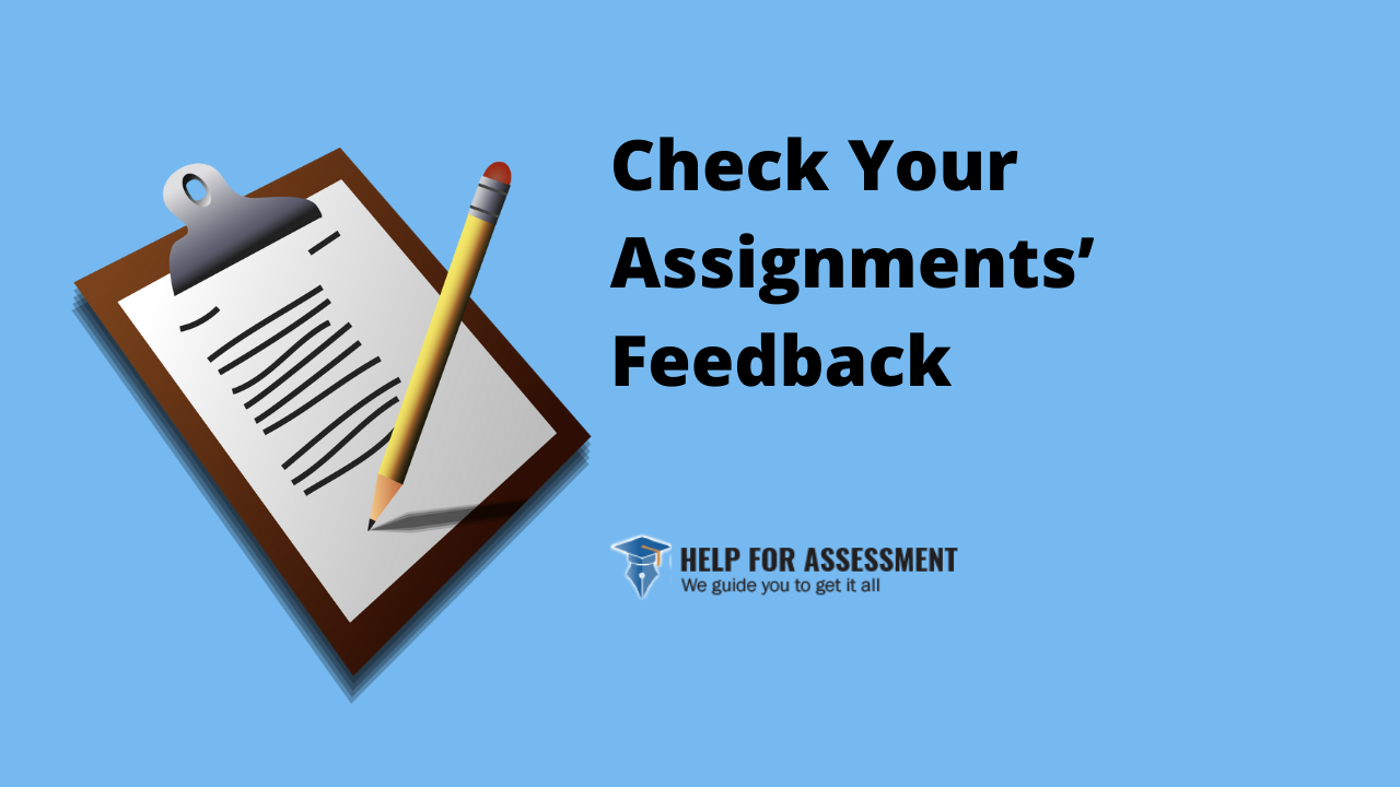 check assignment feedback