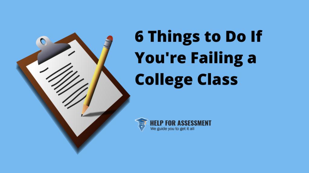 failing college