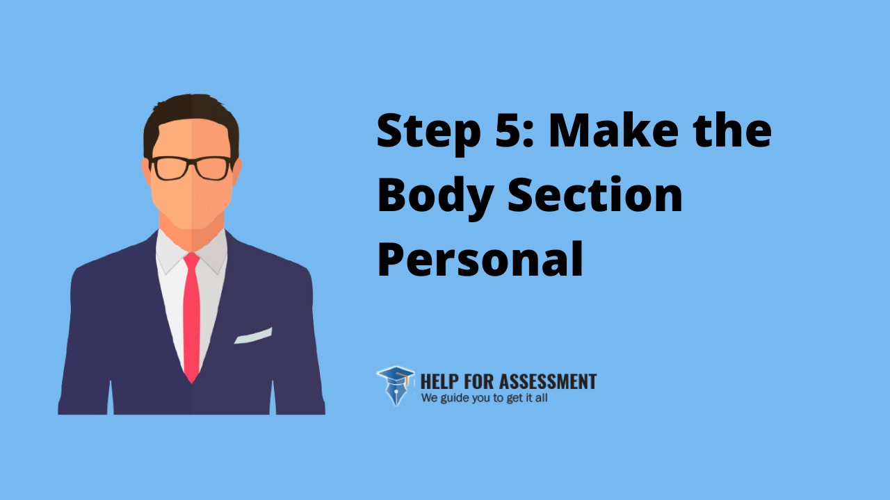 make body section personal statement