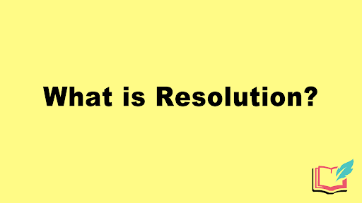 resolution in a story
